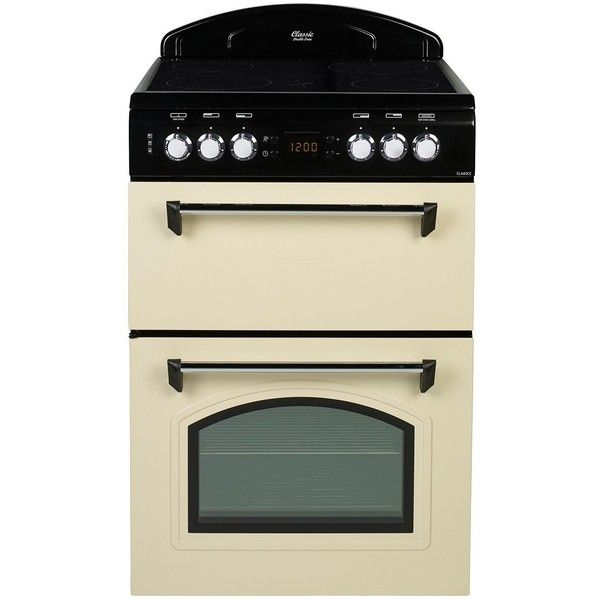Leisure Cla60Cec 60Cm Electric Classic Mini Range Cooker ($645) ❤ liked on Polyvore featuring home, kitchen & dining, small appliances, electric cooker, air cooker, mini oven, electric oven and kitchen electrics