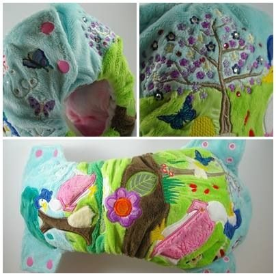 Modern cloth nappy made by Outback Nappies