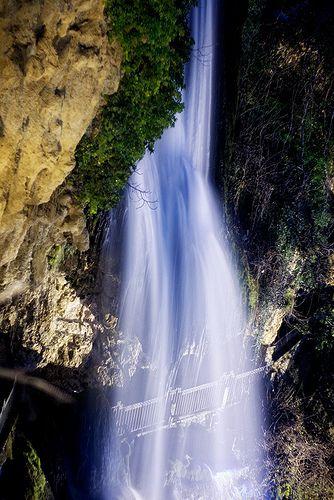 Waterfalls in Edessa,northern Greece