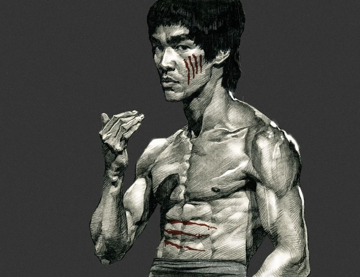 Bruce Lee - Pound for pound, the greatest master who ever lived. Way to bad he's gone!