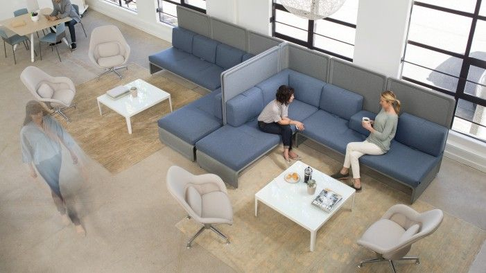 A Flexible Common Area Provides A Variety Of Breakout Spaces.