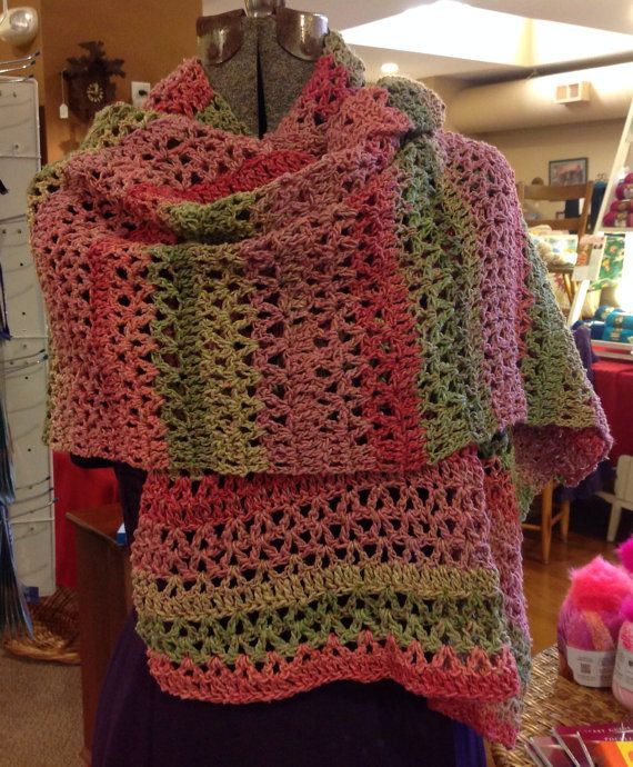 Crocheting Prayer Shawls : Crochet Prayer Shawl by hendersonmemories on Etsy, $175.00