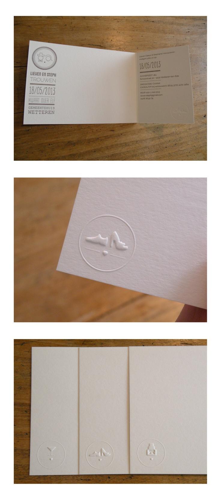Weddinginvitation/Logo(s) - Steph+Lieven