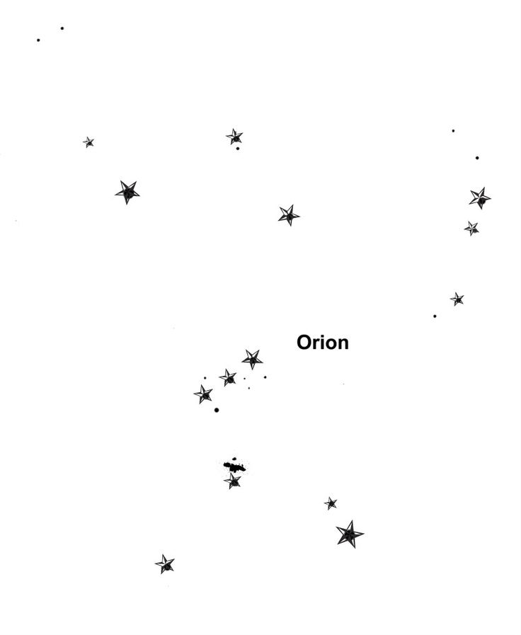 Orion Tattoo, love this...subtle...maybe in brown so it looks like freckles…