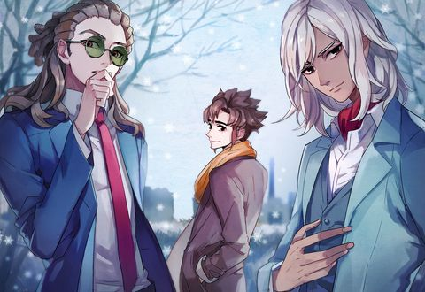 「❉Merry Christmas❉」/「南城」のイラスト [pixiv] Kido, Endou & Goenji | Inazuma Eleven GO