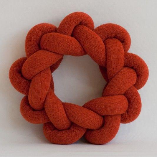Roundbrocade Orange | Kaupstaður - íslensk hönnun