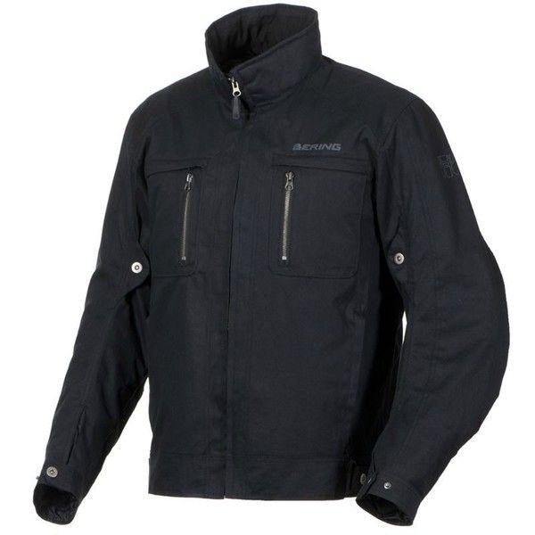 Blouson moto route textile Gizmo BERING Noir Taille M