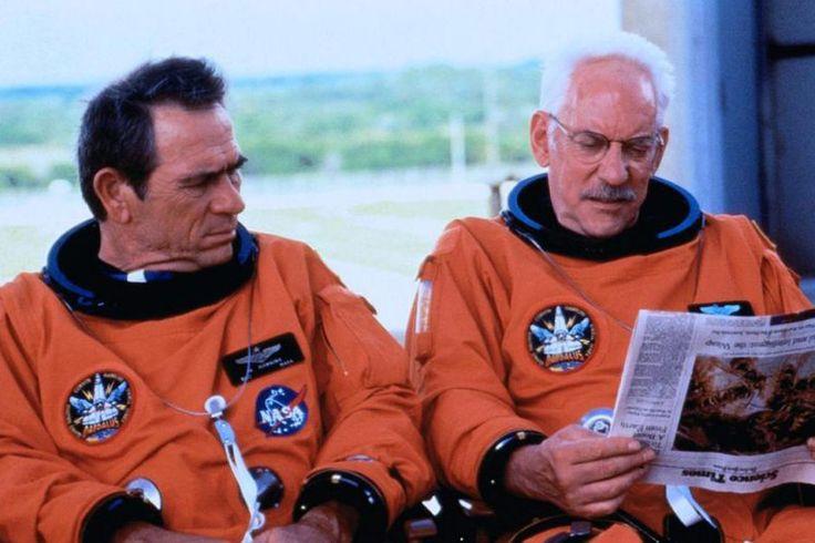 """""""Kosmiczni kowboje"""" - Tommy Lee Jones, Donald Sutherland - 2000.    galeria zdjęć - Zdjęcie nr. 2"""