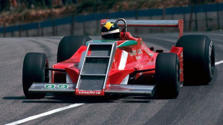 The Ensign N179 turned up at its debut grand prix in South Africa with its oil cooler and radiator in the nose.