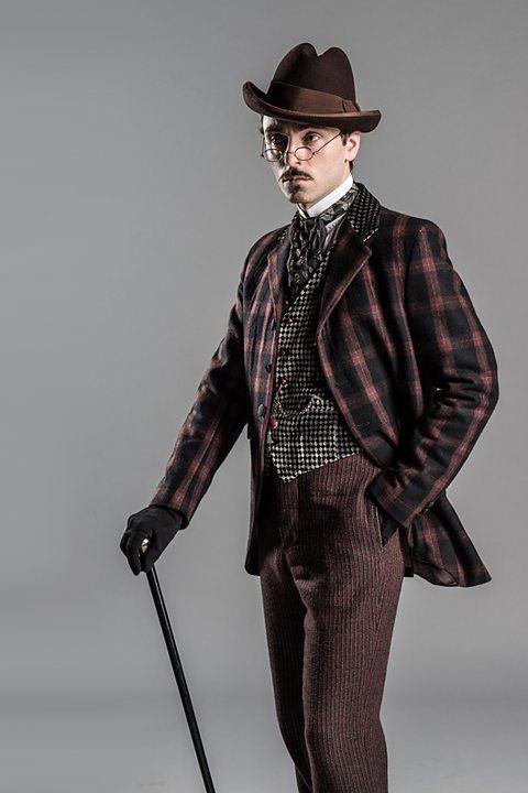 David Dawson as Fred Best in 'Ripper Street' 2012-2015.
