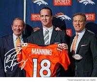 Peyton Manning Denver Broncos Autographed Press Conference Photos - http://www.fansedge.com/Denver-Broncos-Peyton-Manning-Autographed-Photos-New-_939668632_PG.html?social=pinterest_32212_manning  #NFL #Broncos