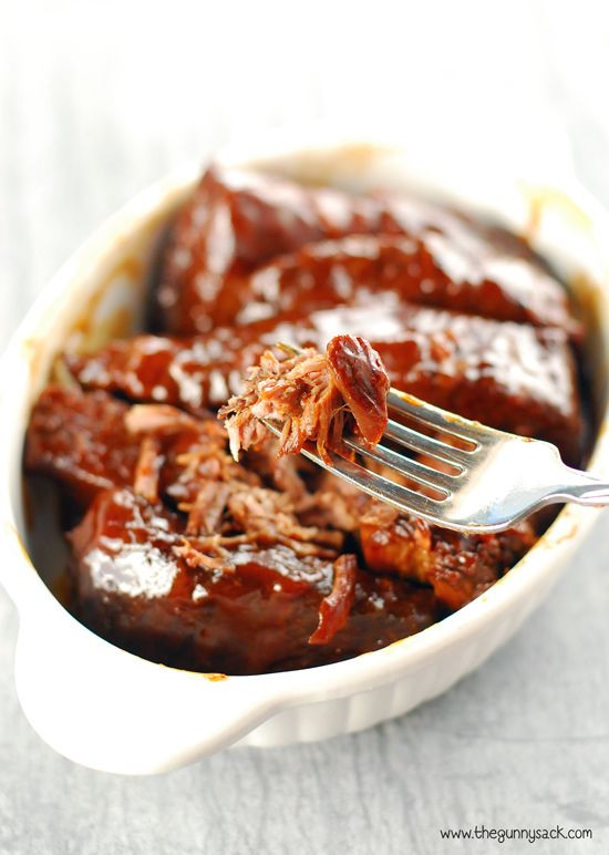 Slow Cooker Barbecue Ribs with Sweet Baby Ray's BBQ Sauce