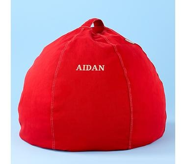 Red Bean Bag Chair from The Land of Nod GREAT Quality!!!