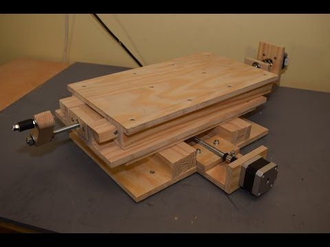 (1164) Making CNC XY Milling Table, Part 2: Mounting the Stepper motors - YouTube