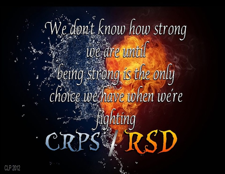 We need Awareness in the medical and Private field millions suffer. This can happen to anyone no matter age or gender. RSD/CRPS can happen from a minor injury or from surgery.