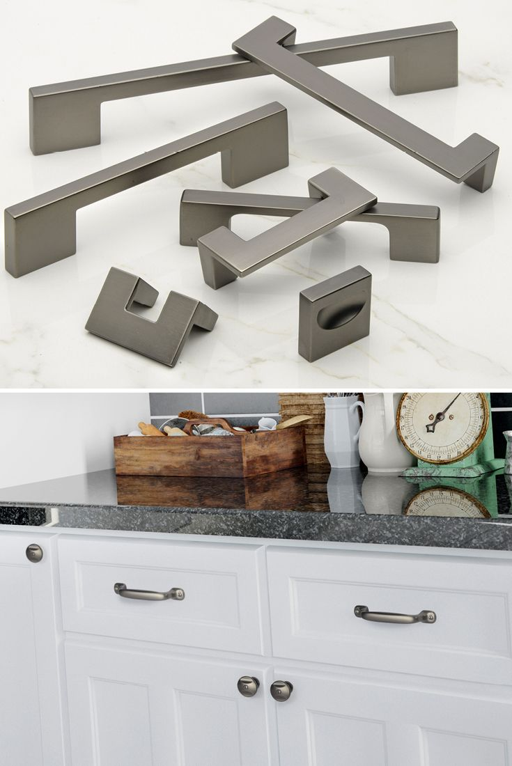 slate finish is popping up everywhere from flooring to faucets and atlas homewares offers it in