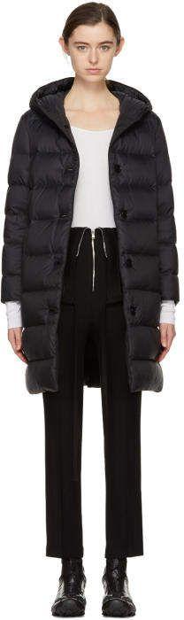 Mackintosh Black Down Long Coat