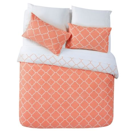 Lunah Queen Quilt Cover Set | Freedom Furniture and Homewares