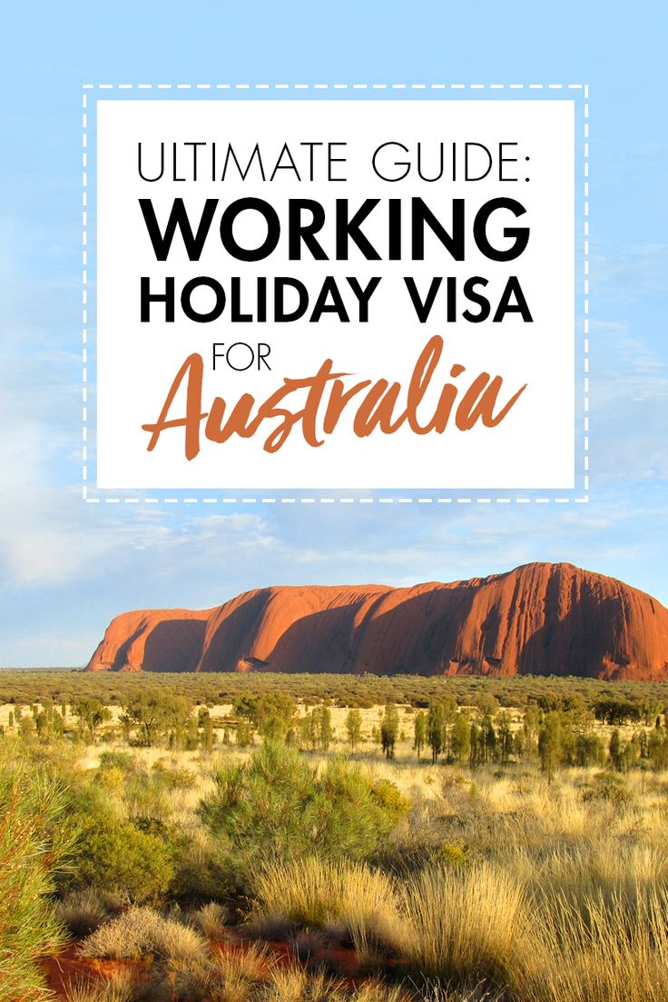 Your how to guide to the Australian Working Holiday Visa! Work, live, and travel in Australia!