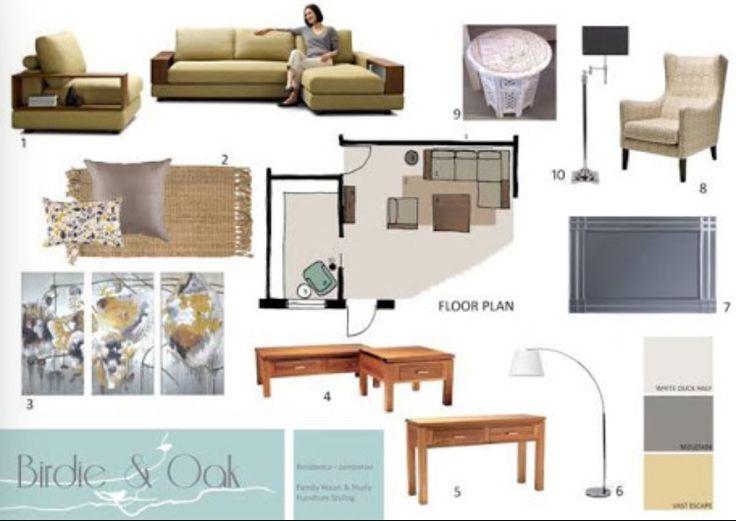 Interior Design Presentation Boards Architecture Board Inspiration Modern Interiors Mood