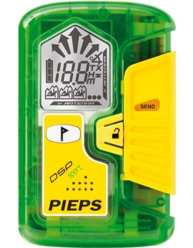 The Pieps DSP Sport Beacon offers industry leading range and battery life, an easy-to-read display, and full digital triple antenna internals, without the bells and whistles (and price) of more complicated avalanche beacons.