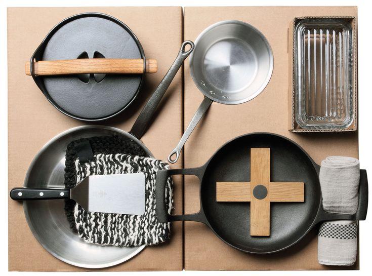 Set ustensiles de cuisine Malle W. Trousseau / n°2 Cuisson / 11 pièces pour la cuisson Carton - Malle W. Trousseau