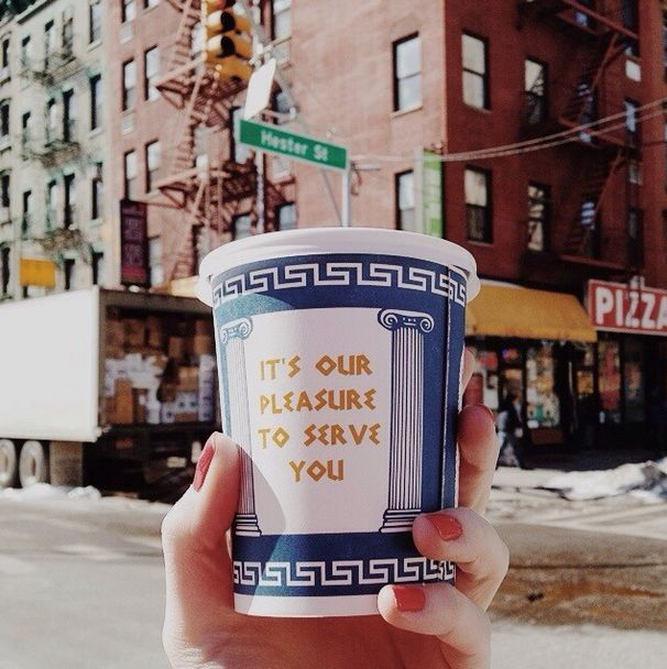 A Brief History of the Disposable Coffee Cup photo