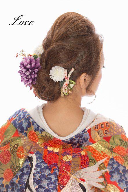 【イメージアレンジ】和装編 の画像 ウェディングヘアメイクルーチェのハッピースタイル♪