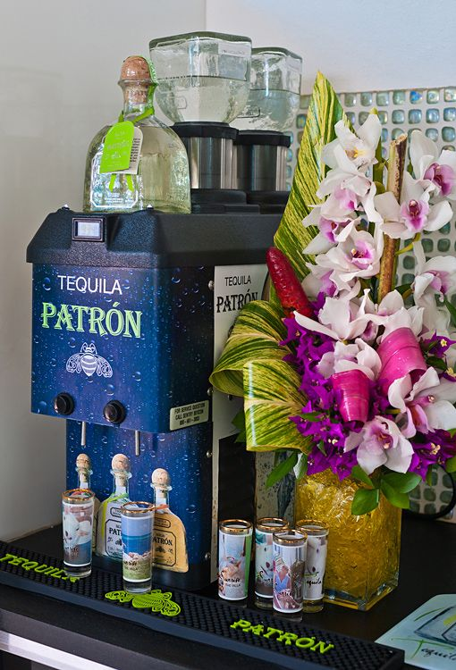 Free unlimited Patron Tequila for our guests for their stay!!!!