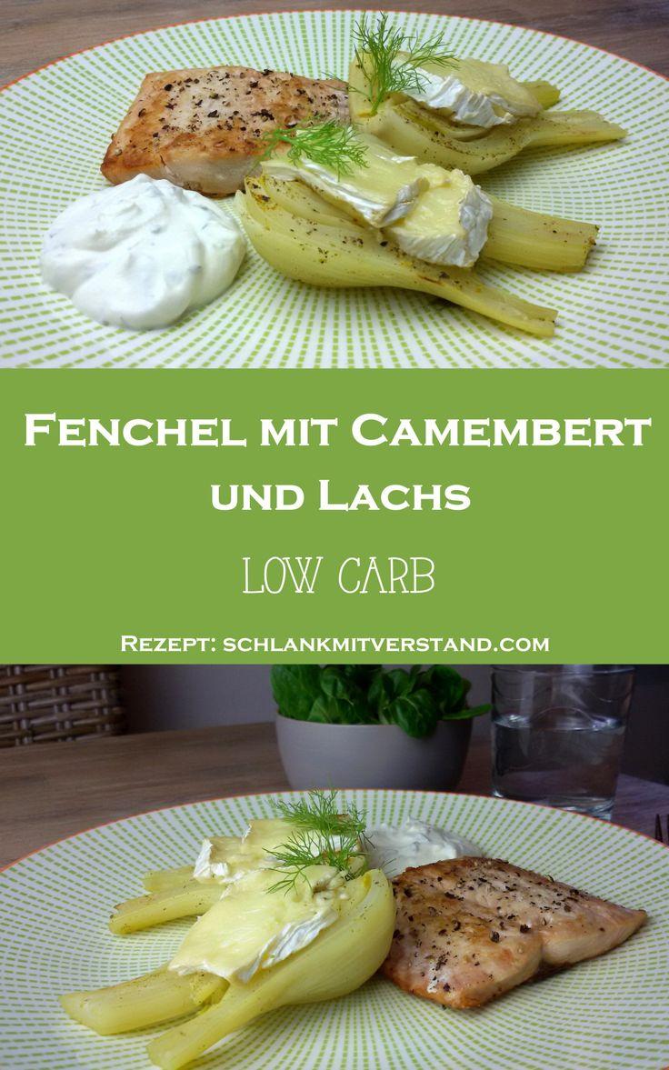 Fenchel mit Camembert und Lachs low carb Lust auf frischen Wind in der low carb Küche? Dann probiert mal Fenchel mit Camembert und dazu Lachs und Kräuterquark. Zutaten pro Person: 1 große Fenchelknolle 50 g Camembert 250 g Lachsfilet 1 EL Kokosöl 1Zitrone Gemüsebrühe Salz, Pfeffer Kräuterquark #abnehmen #2017 #lowcarb #Ernährung #Gesundheit #Food #Foodblog #Rezept