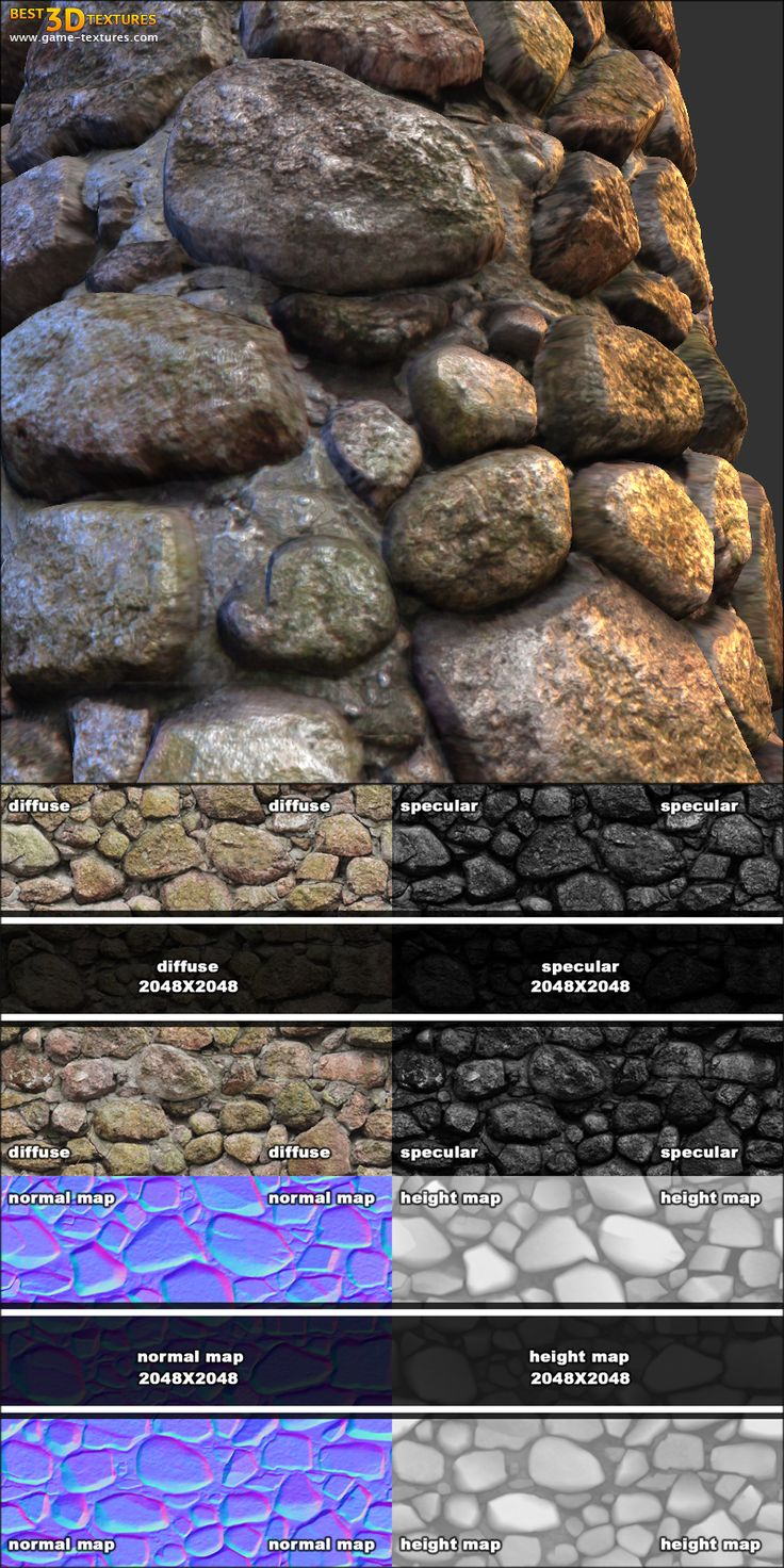 Stone wall 03. A seamless stone wall texture from Game-Textures.com