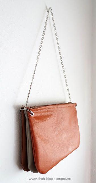 Ohoh Blog - bricolaje y manualidades: Trío DIY cremallera bolsa
