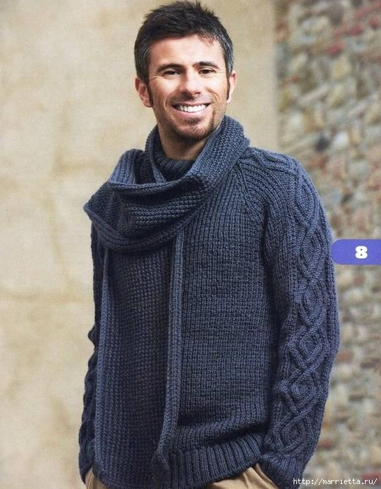 Мужской пуловер двойной резинкой. Обсуждение на LiveInternet - Российский Сервис Онлайн-Дневников