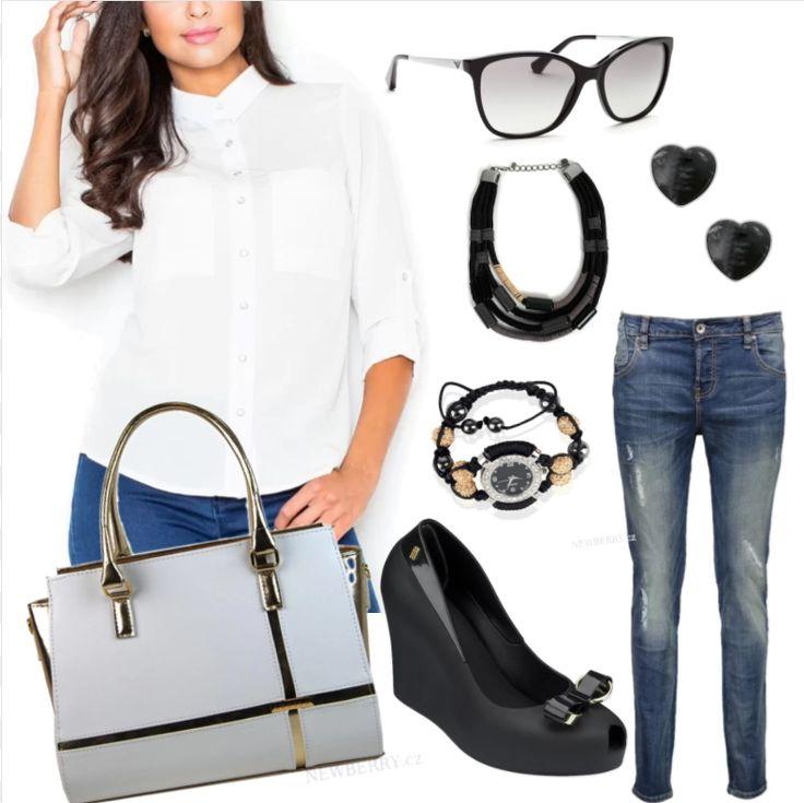 Jednoduchá elegancia je veľmi známou alternatívou pri výbere outfitu. 😊👀👠✔