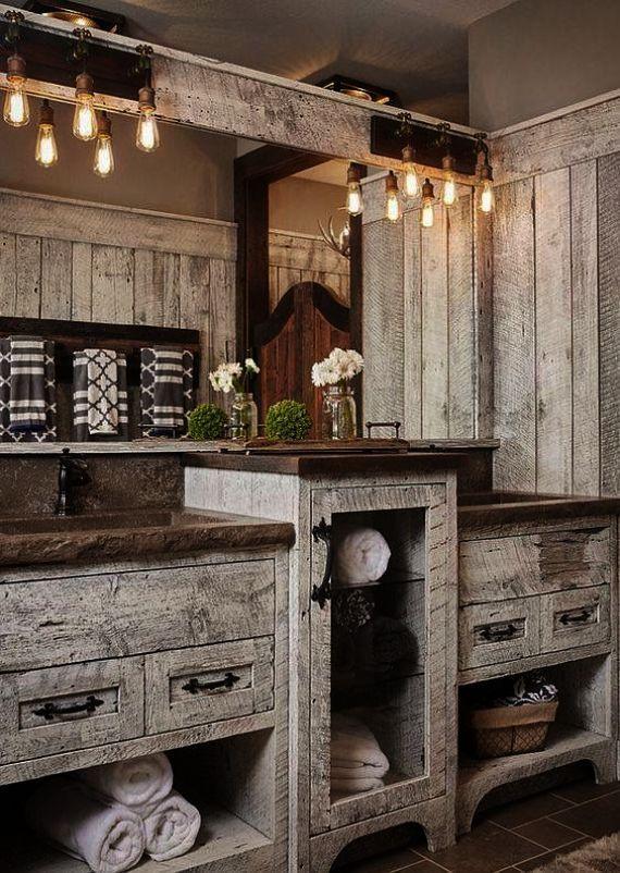 sweet u003e rustic bathrooms with tin nice shower pinterest rh pinterest com au