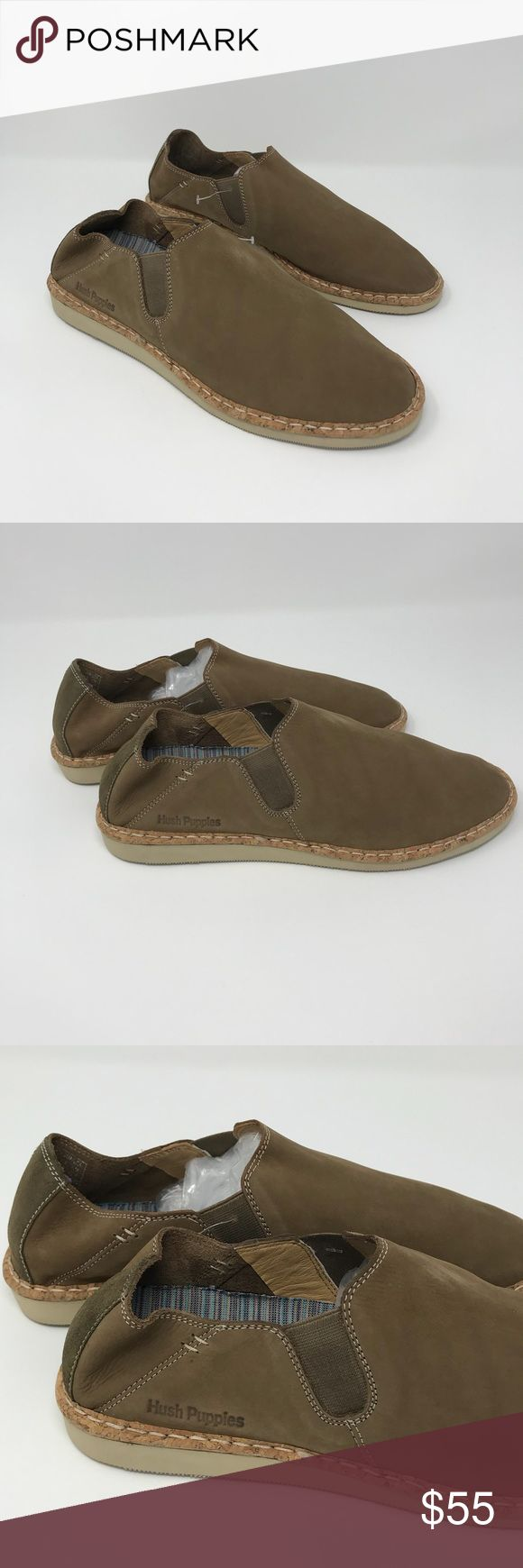 NEW Hush Puppies Maple Nubuck Slip Ons Size 9 These are brand NEW without box/tag Hush Puppies slip on shoes size 9 in maple nubuck. These slip ons are very light and comfortable to wear.  ▪️NEW condition  ▪️size 9  ▪️maple color  ▪️leather/nubuck upper ▪️slip on style Hush Puppies Shoes Loafers & Slip-Ons