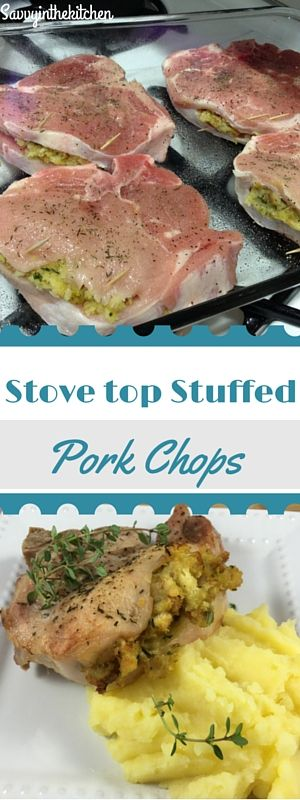 Stovetop Stuffed Pork Chops 2