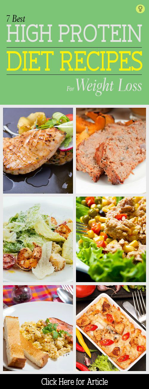 7 Best High Protein Diet #Recipes For #WeightLoss