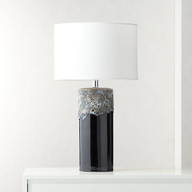 Cadiz Glazed Ceramic Table Lamp Modern Table Lamp Ceramic Table Ceramic Table Lamps