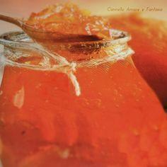 Marmellata di arance e vaniglia    ♥