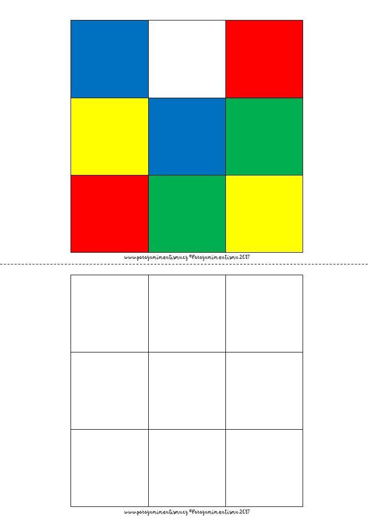 Rubikovka prostorová orientace