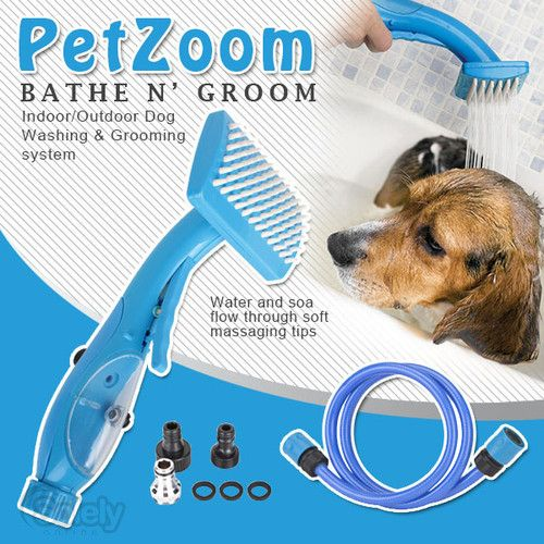 Self Easy Spray Cleaning Grooming Brush For Washing Bathing Bath Cat & Dog $34.90