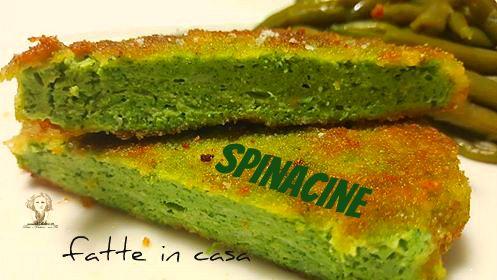 Spinacine+di+pollo+fatte+in+casa