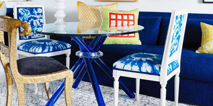 """From """"Monet meets Molly Ringwald"""" to Grecian-inspired Mediterranean blues, get the scoop on 2015 home interior color trends via House Beautiful. #colortrends #interiordesign"""