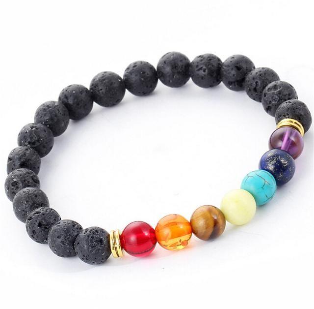 Surf Chakra - Cornish Bracelet Available on Shopify! Shop here 👉 http://cyanclothing.com/products/muti-color-design-mens-bracelets-lava-7-chakra-healing-balance-beads-bracelet-rhinestone-reiki-prayer-stones?utm_campaign=crowdfire&utm_content=crowdfire&utm_medium=social&utm_source=pinterest