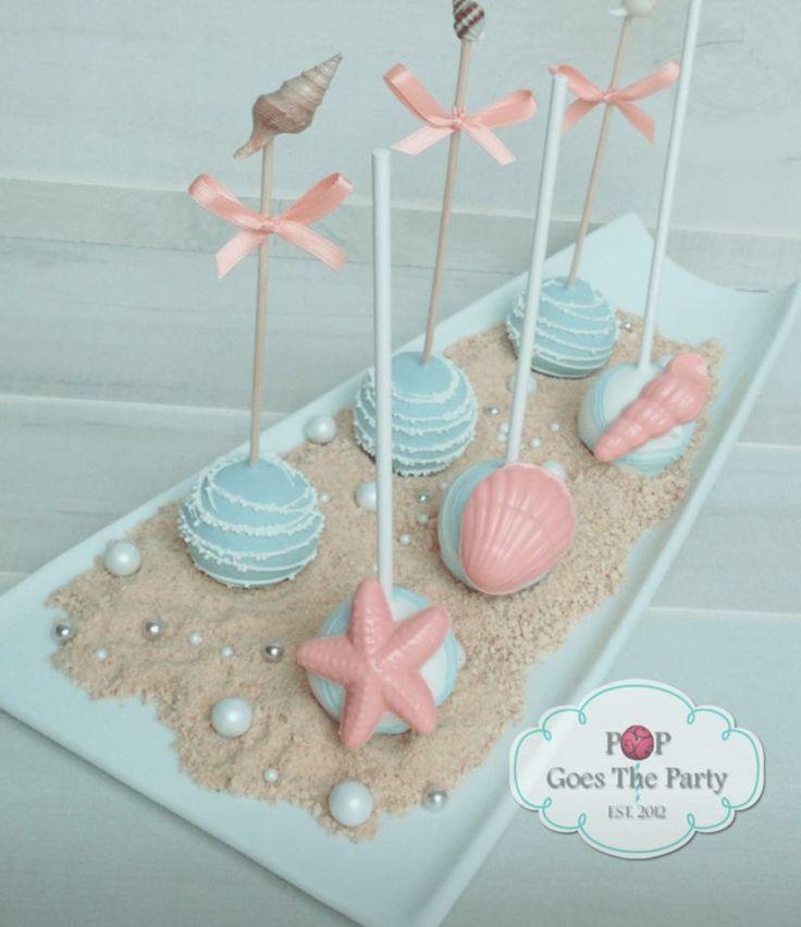 unusual wedding shower favors%0A Beach themed wedding desserts