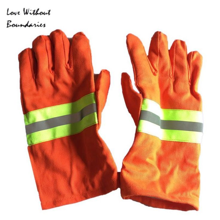 The fire protective gloves Fire protection glove flame retardant insulation gloves More fire gloves