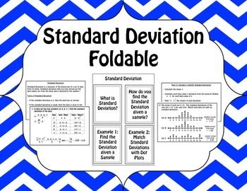 how to use the calculator to find the standard deviation