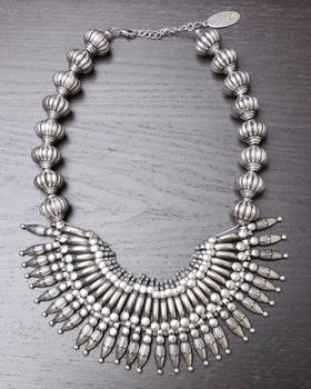 Adia Kibur - TRIBAL BIB NECKLACE