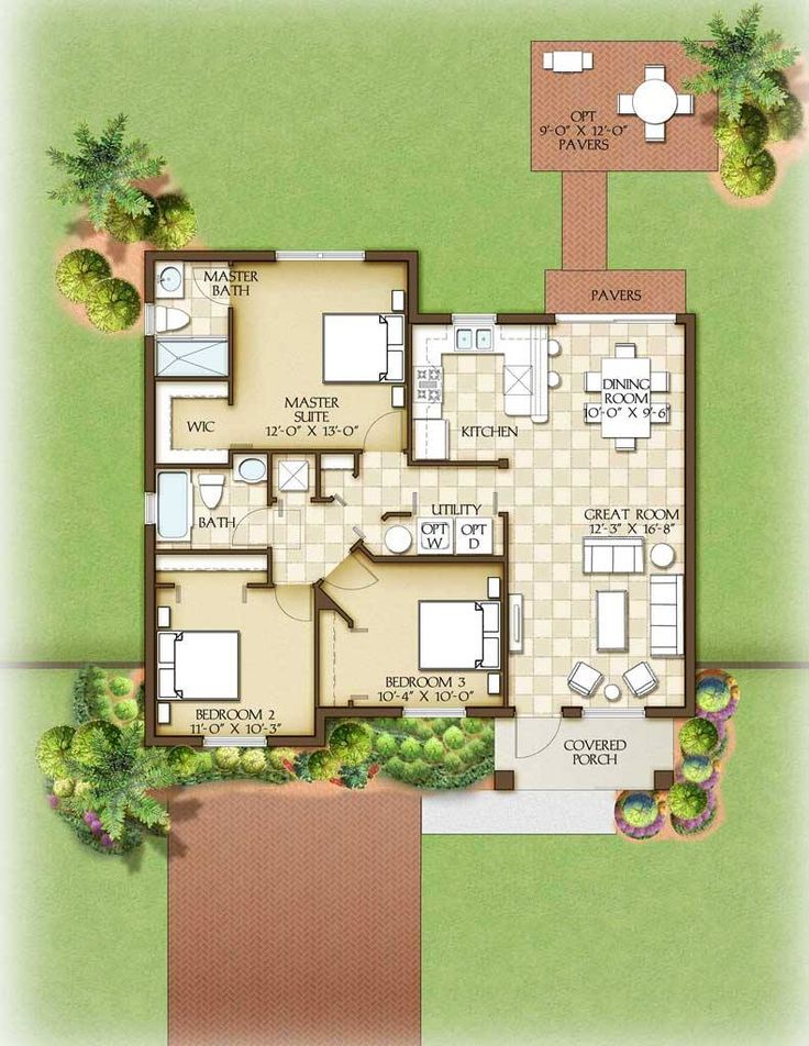 Aspen Model Home Floor Plan 13